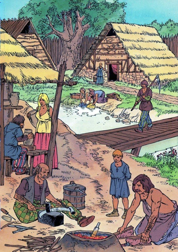 Gaulois-Celtes Bavay dans histoire
