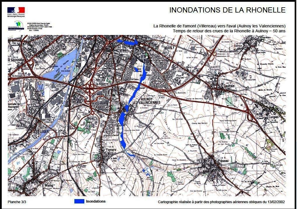 Zones-de-crues-de-la-Rhonelle Famars