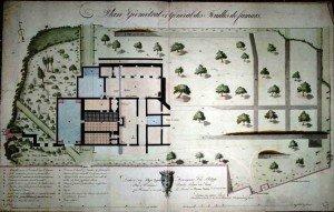 plan-des-fouilles-archeologiques-de-famars-23-mai-1825-300x191 château dans Famars