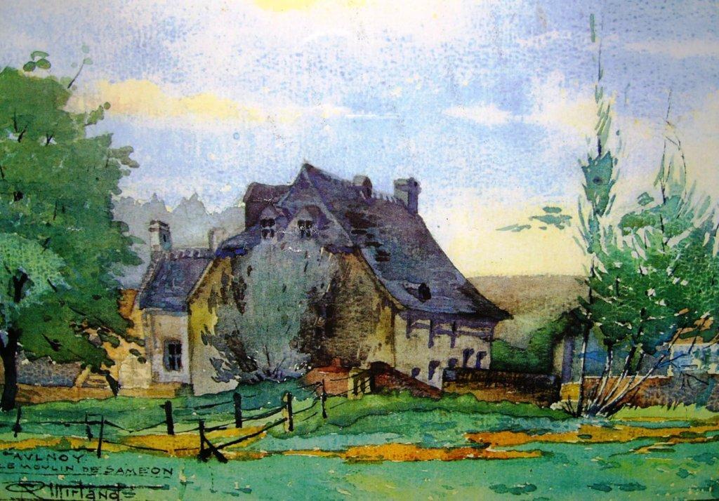 -Famars: Le moulin de Saméon dans Famars Famars-le-moulin-de-Saméon2