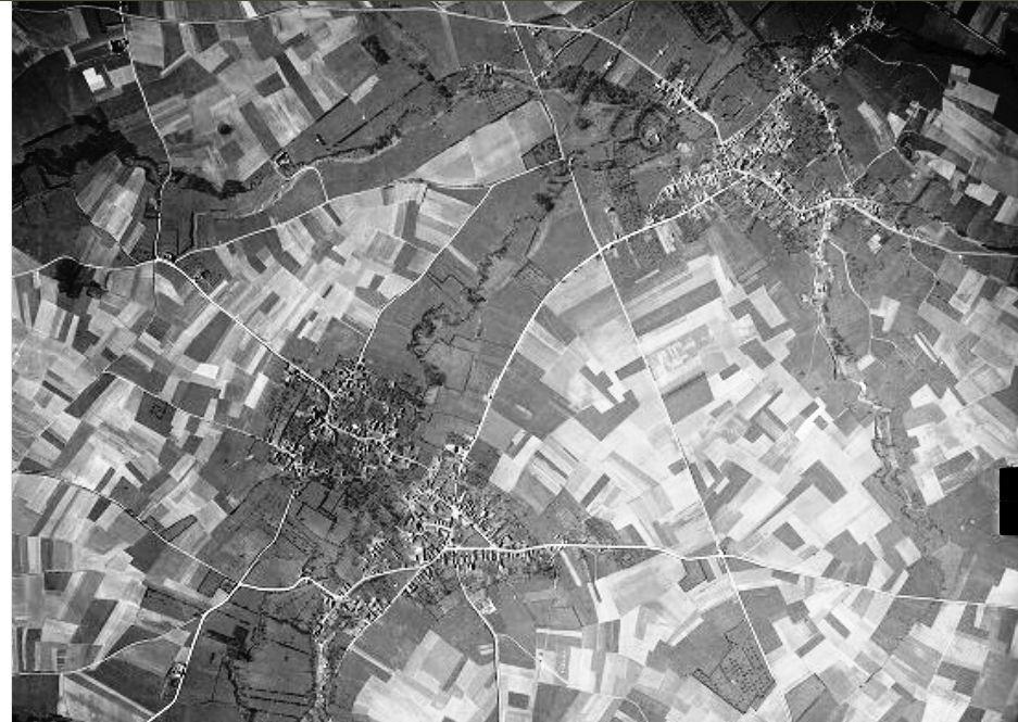 Bermerain-Cliché-IGN-du-31-12-1956 dans histoire