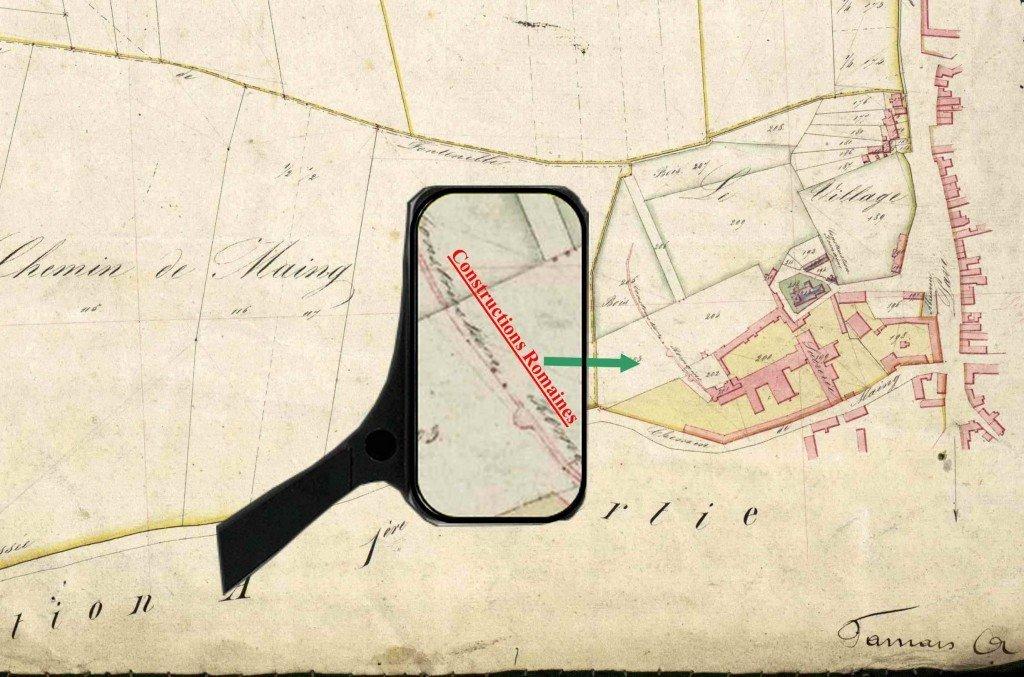 constructions-romaines-cadastre-1830 dans Guerres-de-la-Révolution