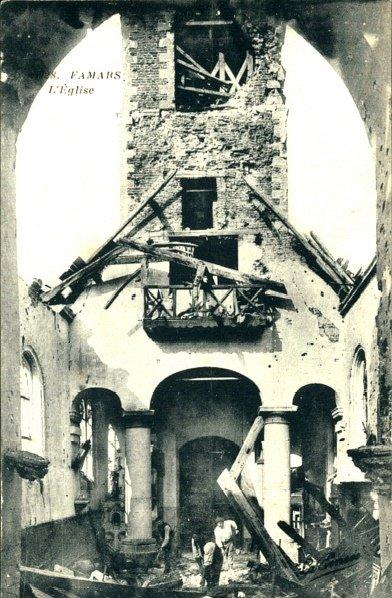1918 Eglise de Famars