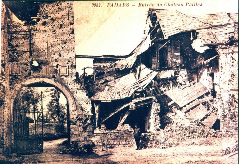 Famars entrée du Château Paillez