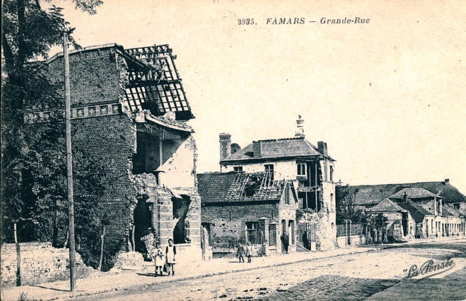 Famars Grande rue