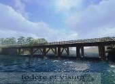 -Les ponts sur la Rhonelle à Famars